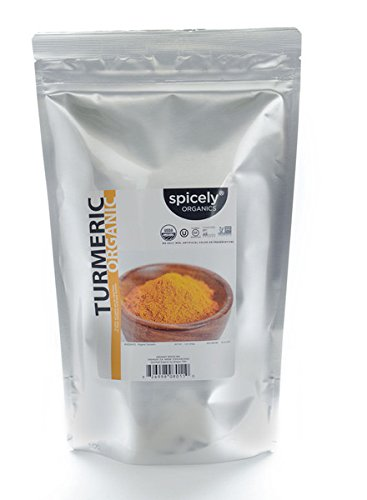 Spicely Organic Spices - Spicely Organic Turmeric 1 Lb Bag Certified Gluten Free