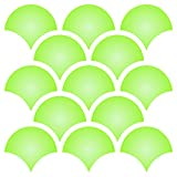 4'' Fish Scale Stencil - 14 x 14 inch (L) - Reusable Template Allover Wallpaper Wall Stencils for Painting - Use on Paper Projects Scrapbook Journal Walls Floor Fabric Furniture Glass Wood etc.