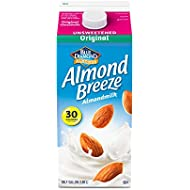 Almond Breeze Unsweetened Original, Almondmilk, 64, fl oz