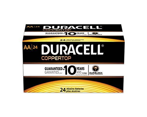 Duracell Coppertop AA Batteries 24 Count