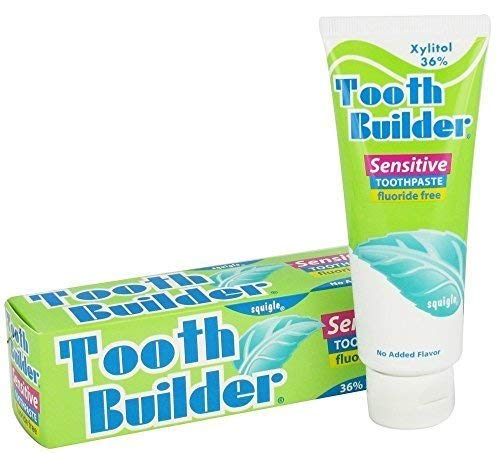 Squigle Tooth Builder SLS Free Toothpaste (Helps Stop Tooth...