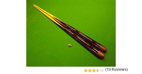 IQ Pool - Juego de 2 tacos de billar (121,9 cm): Amazon.es: Deportes y aire libre