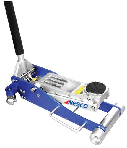 Nesco Tools 2203 Aluminum Low Profile Floor Jack - 3 Ton Capacity (Nesco Jack)