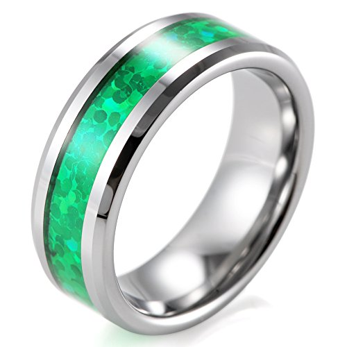 SHARDON Beveled Tungsten Green Pattern product image