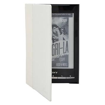 Ultra Delgado Cuero Funda de Piel Para Sony Reader PRS-T1 T2 ...