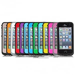 Waterproof Shockproof Dirt Snow Proof Case Cover For iPhone 5 @ Color==Hot Pink