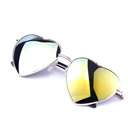 soleil Convient Protection Contre Amour de B Sun Classic Polarized Retro Lunettes Personnalité Femme pour Sunglasses Soirée Fashion Soleil Lens Incassable Men le Frame pour Populaire Moonuy Forme qgRBHB