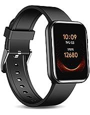 Ticwatch GTH Smartwatch upp till 10 dagars batteritid med hudtemperaturmätning i blodsyre pulsövervakning sömnspårning 5 ATM vattentät för män och kvinnor