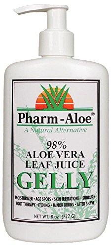 Pharm-Aloe® 98% Aloe Vera Leaf Gel (8oz) (Pharm Aloe Juice compare prices)