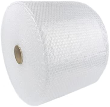 """upkg Brand 3/16"""" 700 feet x 12""""Small Bubble Cushioning Wrap, Perforated Every 12 (4 Rolls X 175 = 700 ft)"""