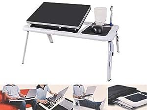 Mesa escritorio plegable para port til con ventilador soporte de escritorio con sof y cama sof - Soporte portatil sofa ...