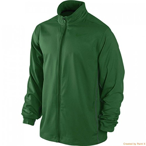 Nike Men's Dri-Fit Team Woven Jacket II-Green-XL