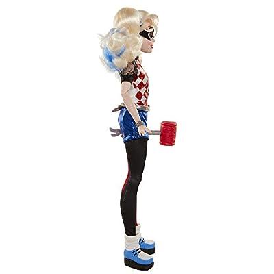 DC Super Hero Girls 69475 Harley Quinn Action Pose Doll: Toys & Games