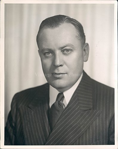 Vintage Photos 1940 Photo US Senator Styles Bridges Politics Business Man Wendell Moore ()