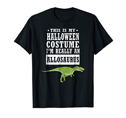 Allosaurus Dinosaur Halloween Costume T-shirt