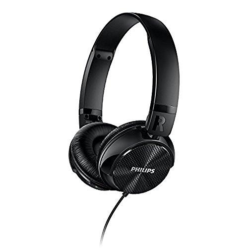 Philips SHL3750NC/27 Noise Cancellation Headphones, Black (Noise Philip Canceling)