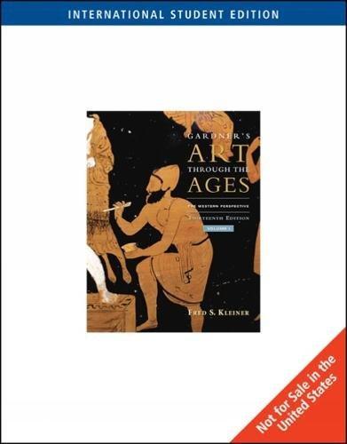 Gardners Art Through The Ages, Vol 1, 13 Ed