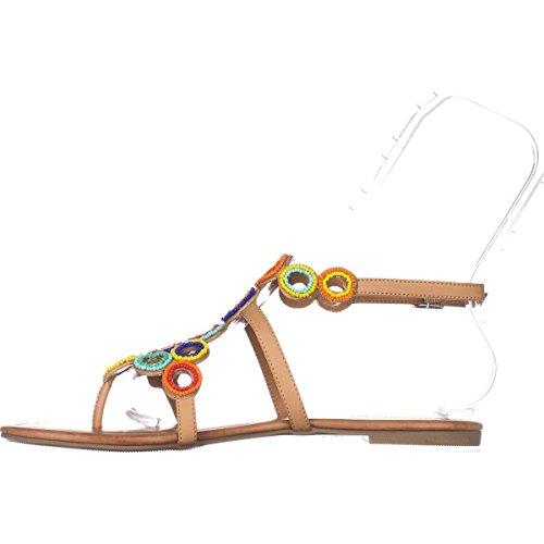 Concepts Tan Buff Frauen Sandalen International INC Marstie Leger Split Toe Flache vz55qZ