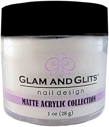 Poudre Glam and Glits Matte Acrylic MAC637 Vanilla Sugar
