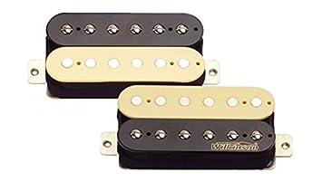 Wilkinson MWHZ - 2 pastillas Zebra Humbucker (mástil y puente) para guitarra eléctrica.: Amazon.es: Instrumentos musicales