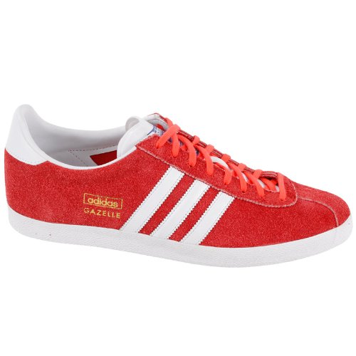 Adidas Gazelle OG Red Womens Trainers Size 7.5 US