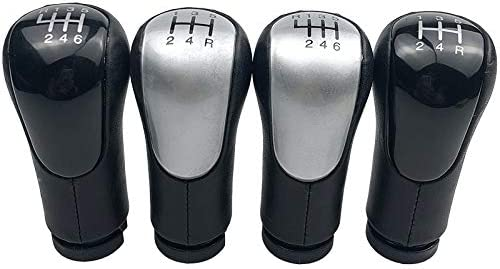 Size : 5 Speed Black No logo SHENGSHIHUIZHONG 5//6 Speed Leather Gear Shift Knob For Ford Fiesta Fusion Transit Connect 2002-Up Car Styling Accessories Shifter Lever Stick Pen