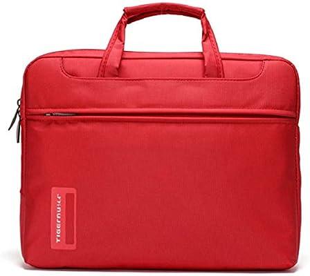 culater® Funda para ordenador portátil 14 pulgadas Macbook Air Pro hombro bolso de mano rojo 14 pulgadas: Amazon.es: Informática