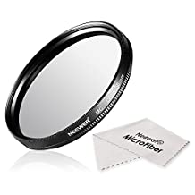 Neewer® 58MM CPL Circular Polarizer Filter Multi-Coated with Microfiber Cleaning Cloth for Camera Lens with a 58mm Filter Thread