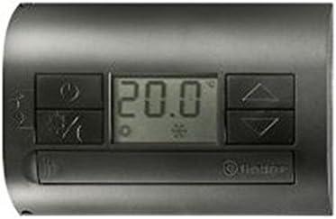 Finder serie 1t - Termostato pared electronico antracita con ...