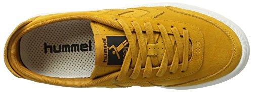 Hommel Suede Sneaker Unisex - Stockholm Suède Laag - Casual Schoenen Div Kleuren -. Halbschuh Kleur - Schoen Voor De Zomer - Sneaker Gevulkaniseerd Stijl Bruin (inca Goud)
