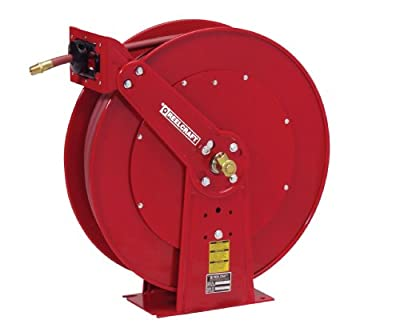 Reelcraft 82100 OLP 1/2-Inch by 100-Feet Spring Driven Hose Reel for Air/Water