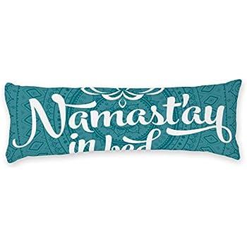 Amazon Com Ailovyo Teal Body Pillow Case Mandala Pattern