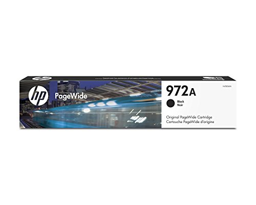 HP 972A Black Original PageWide Cartridge (F6T80AN) for HP PageWide Pro 452dn 452dw 477dn 477dw 552dw 577dw 577z