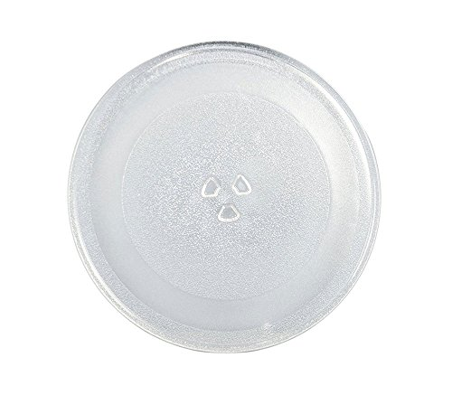 Cook Tray - Supco MW014A Microwave Glass Turntable Cook Tray, 12.7 x 12.5 x 1 Inch, Replaces W10337247, 3390W1G014A