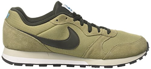 2 Md Blue Sneakers Olive NIKE Sequoia 201 Neutral Runner s Green Lt Men SIHHqU6