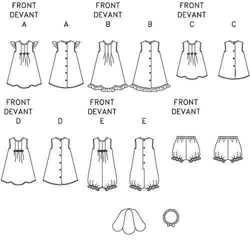 chapeau et bandeau NB0 Top mod/èle NB - S - M B/éb/és robe culotte barboteuse