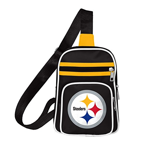 NFL Pittsburgh Steelers Mini Cross Sling Bag