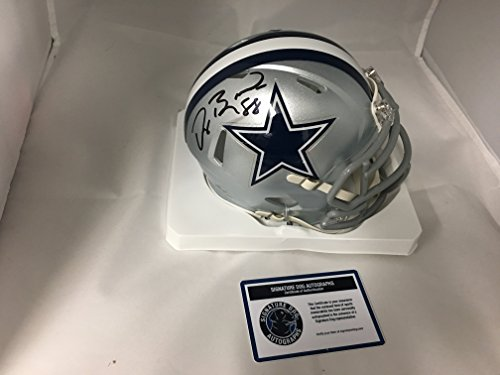 Dez Bryant Autographed Signed Dallas Cowboys Speed Mini Helmet COA & Hologram