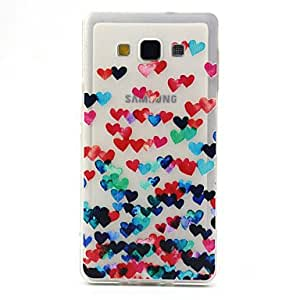 LCJ 5 Inch Love Pattern TPU Soft Case Back Cover for Samsung GALAXY A5