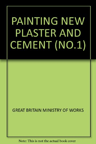 PAINTING NEW PLASTER AND CEMENT (NO.1) (Plaster Cement New)