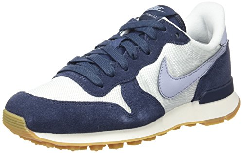 Summit Blue White Scarpe Grey Donna Basse da Glacier Ginnastica Bianco NIKE thunder Internationalist 8HxC7