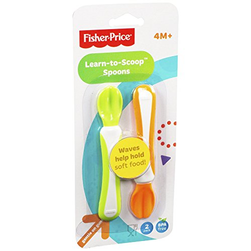 Fisher Price Training Spoons Learn