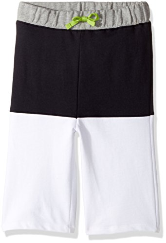 Burt's Bees Kids Little Boys' Organic Cotton Shorts, Onyx French Terry, 7
