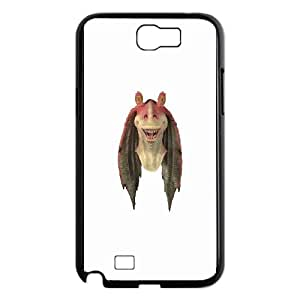 Star Wars Jar Jar Binks Samsung Galaxy N2 7100 Cell Phone Case Black Exquisite gift (SA_577482)