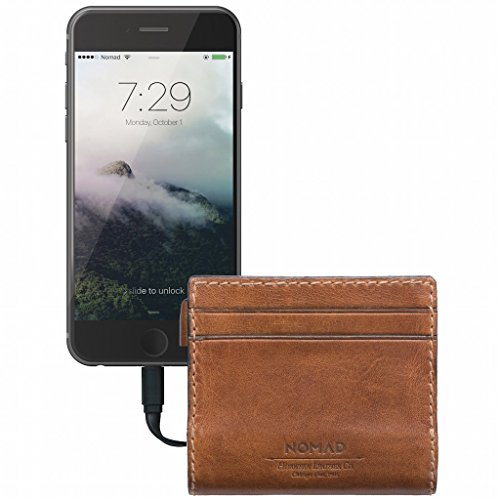 Nomad Slim Horween Leather Charging Wallet for iPhone by Nomad