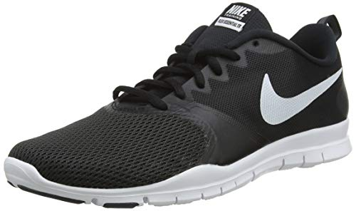 Nike Women's Flex Essential Training Shoe (8.5, Black/Black/Anthracite/White)