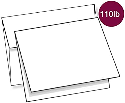 Bulk Blank Note Cards with Envelopes Box Set of 48, Handmade 4 x 6 Fill in The Blank All Occasions Greeting Card, Office Stationery Card DIY Personalized Sympathy, Thank You, Birthday