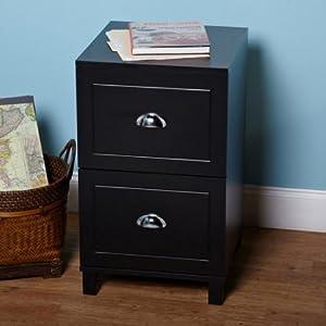 Amazon.com: Bradley 2-Drawer Filing Cabinet, 2 drawers for letter ...