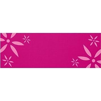 Amazon.com: 4 mm Pink Esterilla de yoga con grabado Daisy ...