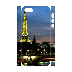 3D For SamSung Galaxy S3 Phone Case Cover Eiffel Tower At Night Protector For Girls, Cute For SamSung Galaxy S3 Phone Case Cover Teen Girls Protector For Girls [White]